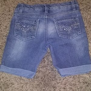 Girls small shorts jeans
